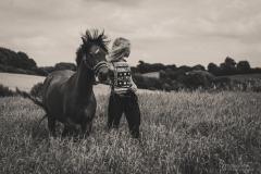 Pony Prinz und Leonie