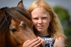 Pony Prinz & Leonie - Portrait