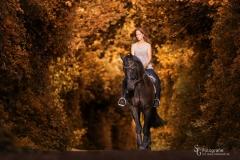 Anni & Simply Black III - Herbstlook