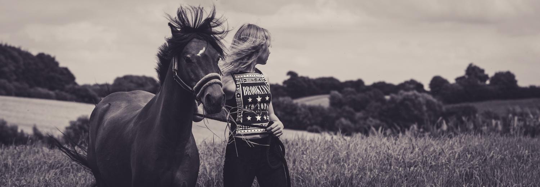 Pferdefotografie und Schwarz/Weiß